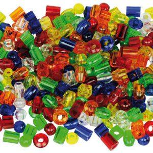Maxi-Pärlor - 180-pack + 12 Snören