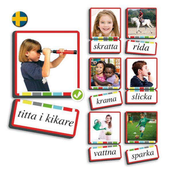 """Ord & bild"" verb Svenska"